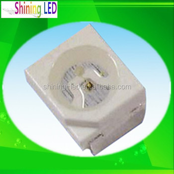Data Sheet 0.06w 515-525nm Smd 3528 Green Led Specifications