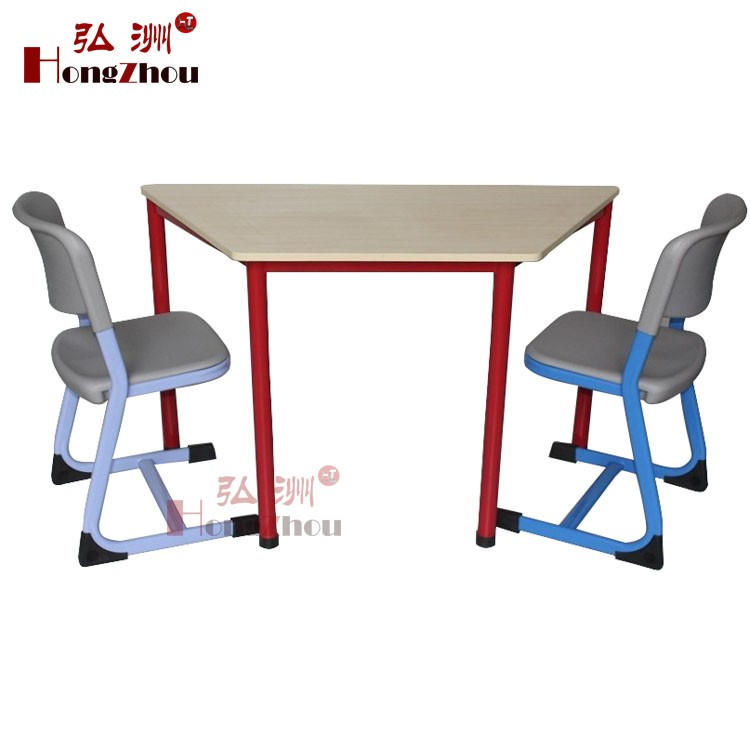 Guangzhou supplier round study tables school furniture