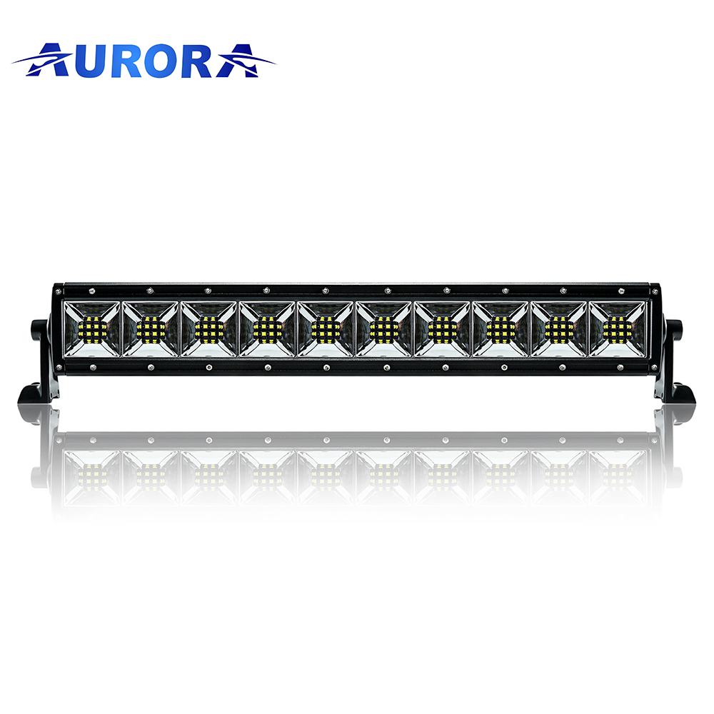 SAE led 4x4 light bar car offroad led light bar IP69K Waterproof  Aurora led light bar truck