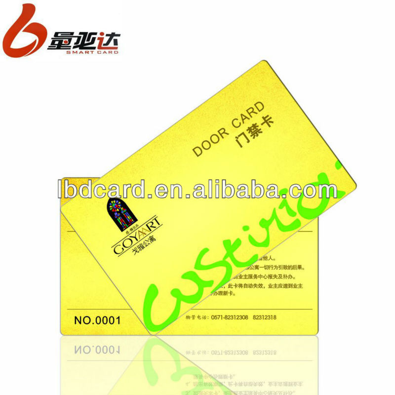 Color Contacts Wholesale Hospital diagnosis Pasitc Smart card
