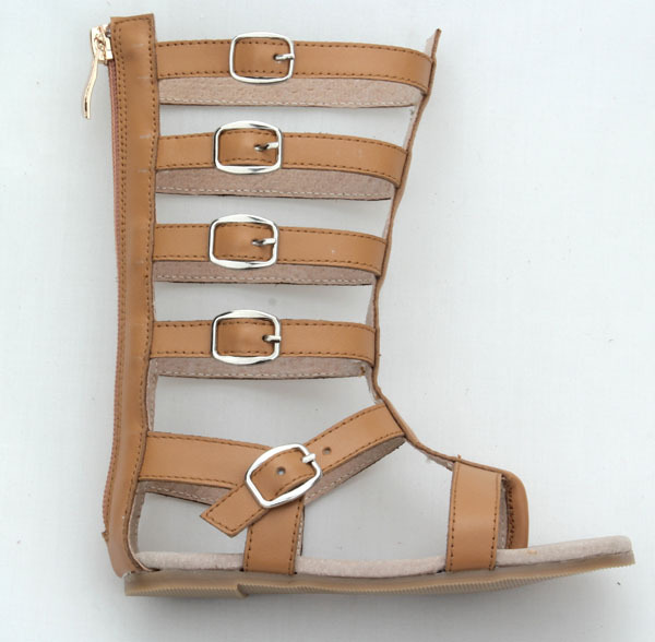 f26025f73de wholesale cheap roman knee high boot kids gladiator sandals