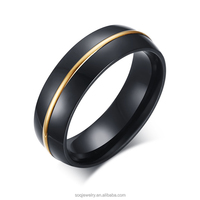 Black river steel jewelry custome cheep wholesale men stainless steel ring