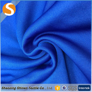Professional in high quality 100% polyester plain dyed pk brush fabric
