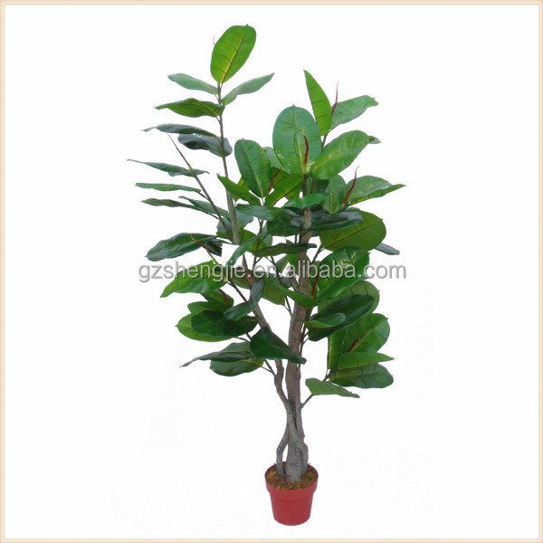 SJM091954 Artificial fake bonsai tree greenery tree handmade indoor decorative plant oak tree for sale