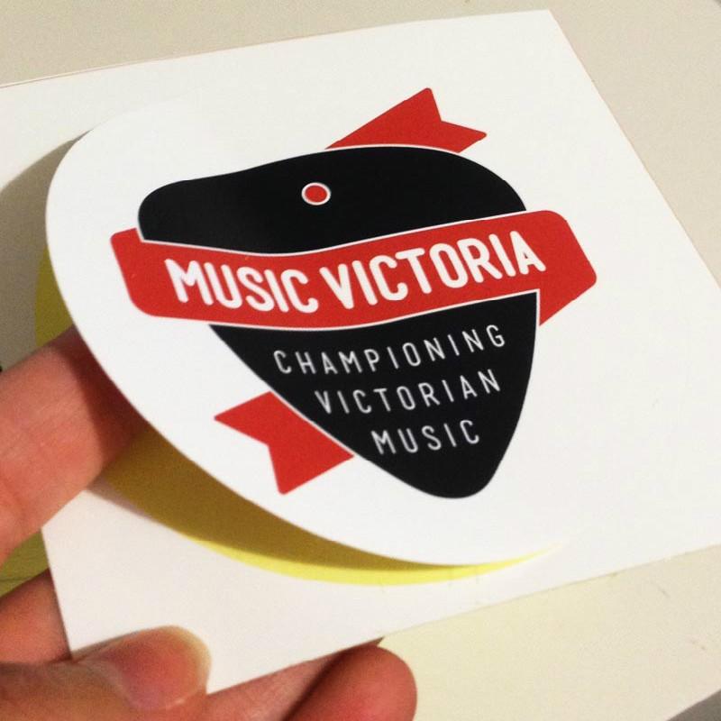 Individual custom self adhesive die cut stickers vinyl stickers