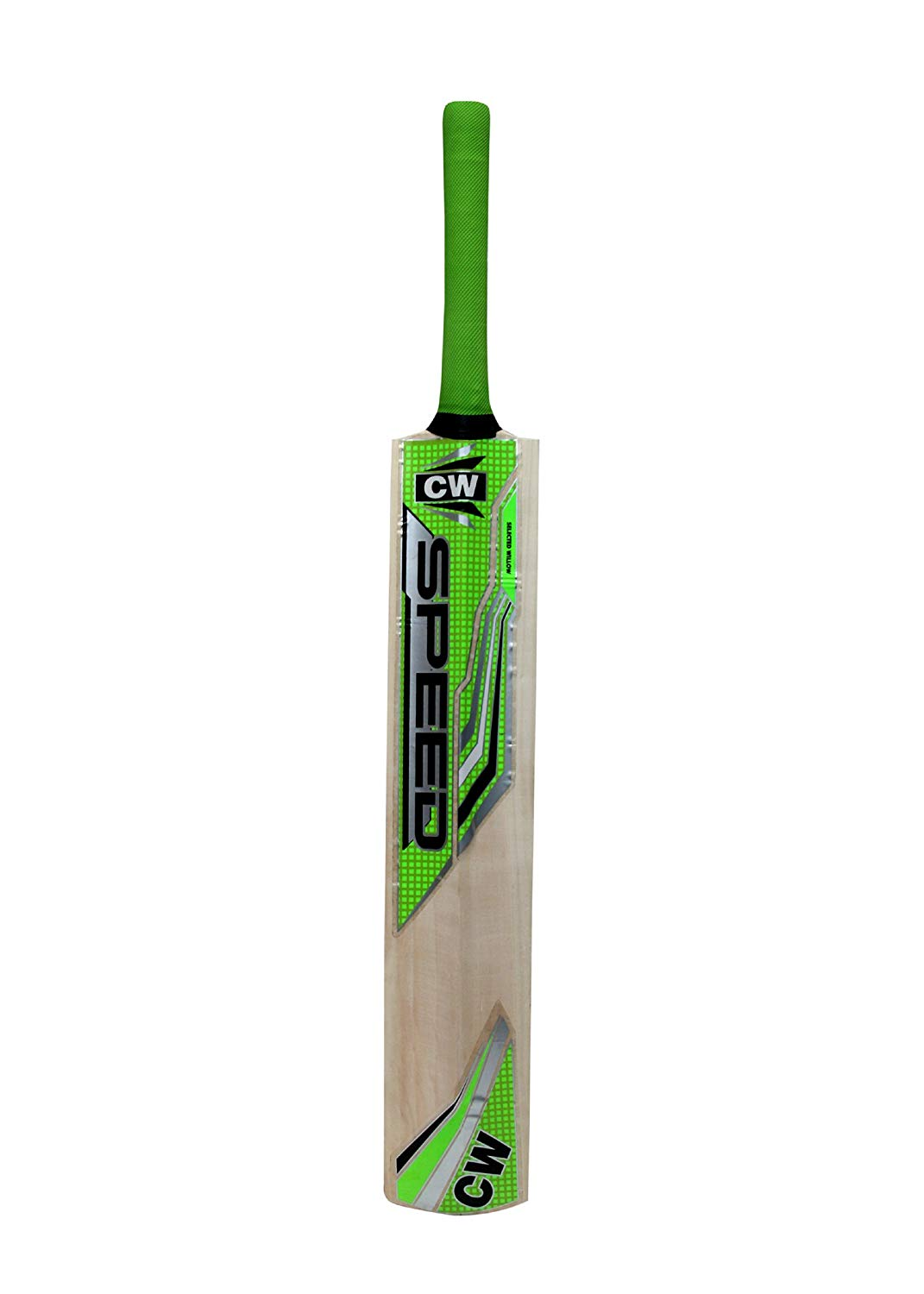 C&W Cricket World Stylish Men Sports SPEED Original Tennis Kashmir Willow Full Short Handle Thick Edge Light Weight Traditionally Shaped Perfect For Tennis Play With Free Bat Cover Lowest Price_