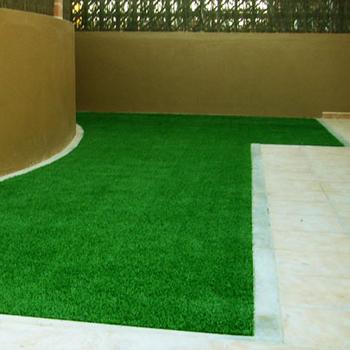 Fake Small Patio Garden Lawn