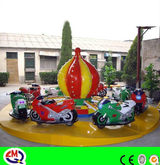 Outdoor attractive amusement electric motorcycle for sale for children