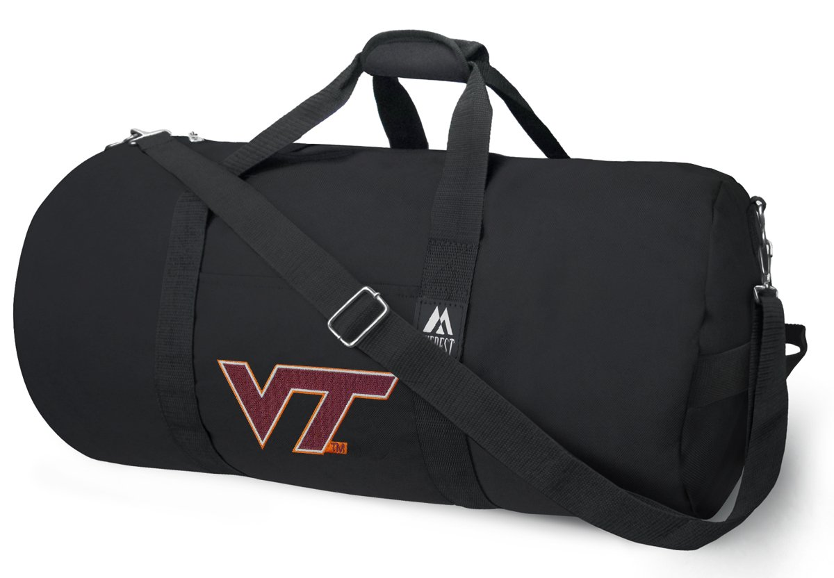 OFFICIAL Virginia Tech Duffle Bag or Virginia Tech Hokies Gym Bags Suitcases