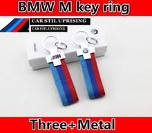 New Arrival ///M Logo Key Chain for BMW E84 E87 E88 E89 E90 E92 E93 F01 F02 Styling Decoration Car Key Ring