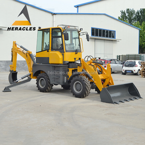 CE compact tractor backhoe loader for sale