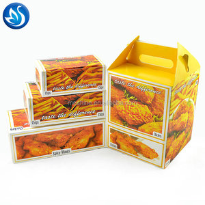 Custom printed high quality fried chicken box wholesale