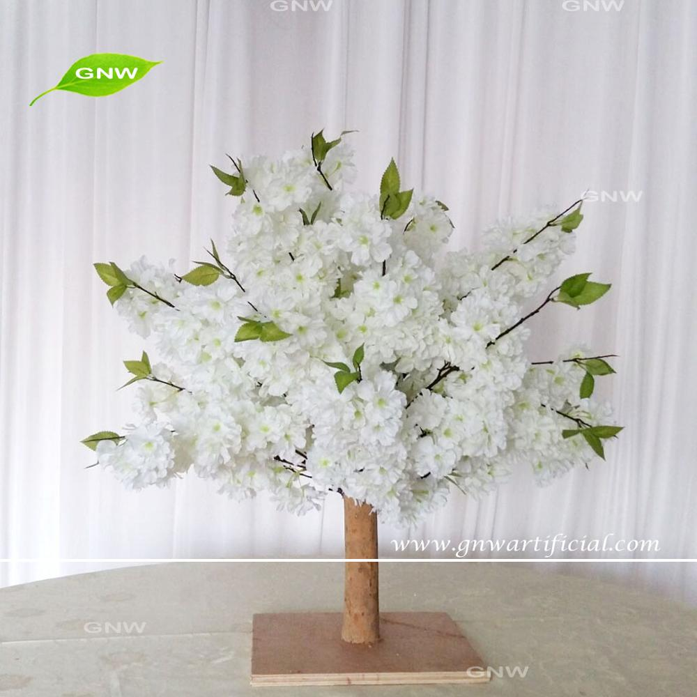 Gnw Bls1707012 Mini White Cherry Blossom Tree For Wedding Table ...