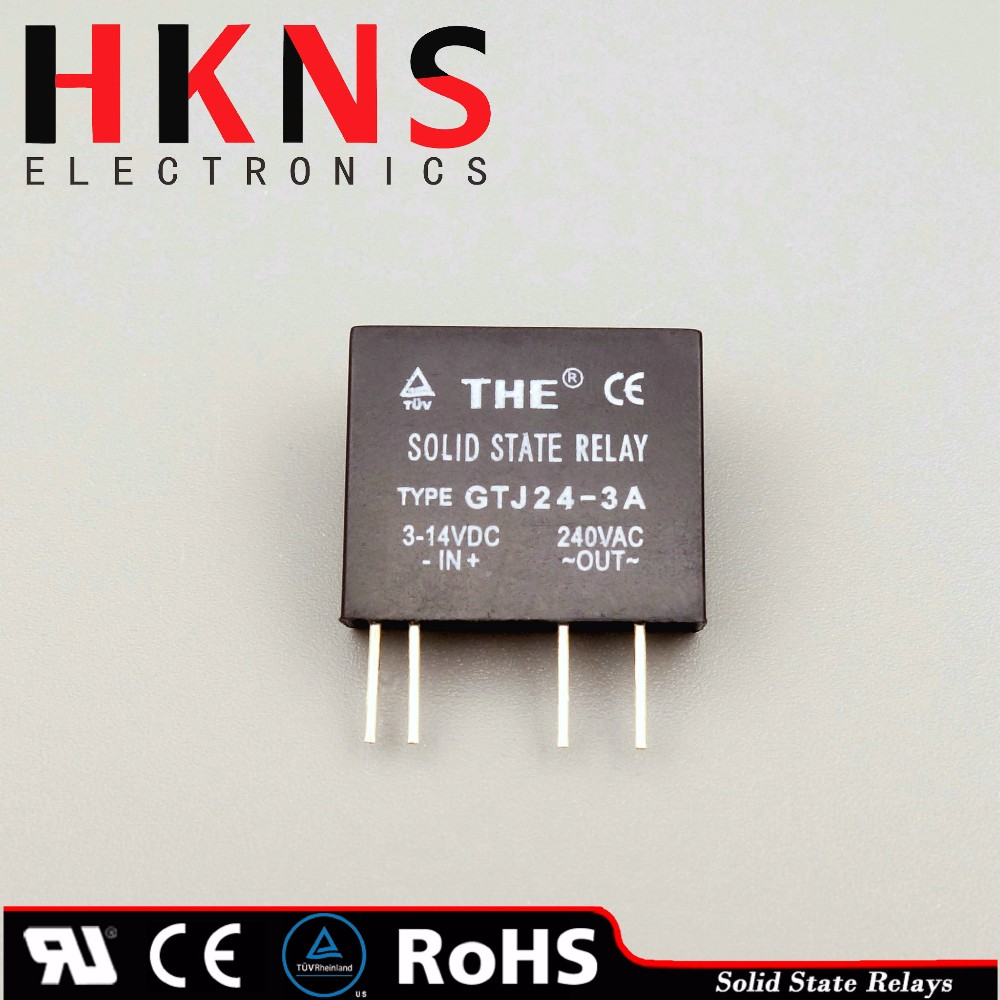 Mini Solid State Relay Ssr Dc To Ac 3a Pcb Type Crydom Ul Tuv Wiring Diagram Description