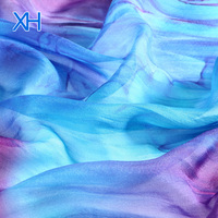 Wholesale Silk Fabric Printed 100% Chiffon by Xinhe Textiles