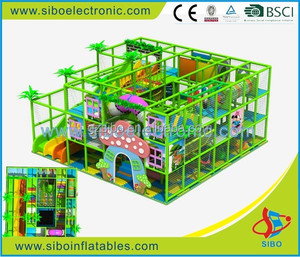 GM0 indoor playground fence kids play games wholesale soft play area