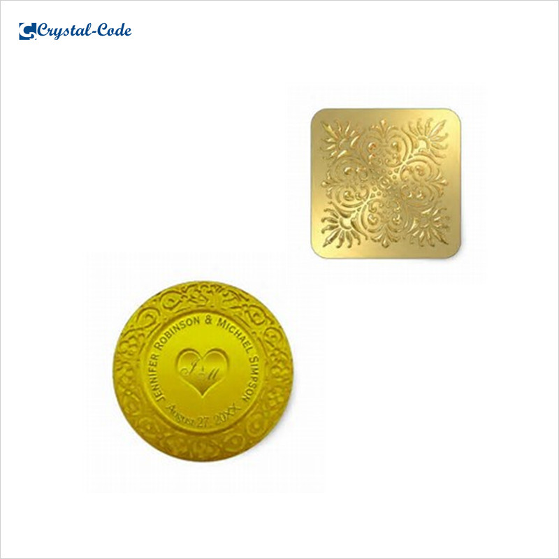 Gold Embossed Stickers, Gold Embossed Stickers Suppliers and