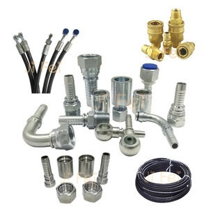 carbon steel pipe fittings hydraulic terminal tube fitting mechanical coupling pipeunion joint hydraulic hose fitting