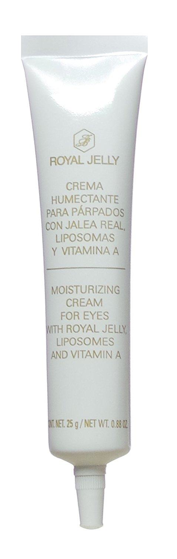 Royal Jelly Crema Humectante para Parpados con Jalea Real, Liposomas y Vitamina A Moisturizing Cream for Eyes with Royal Jelly, Liposomes and Vitamin A 25 g / 0.88 oz