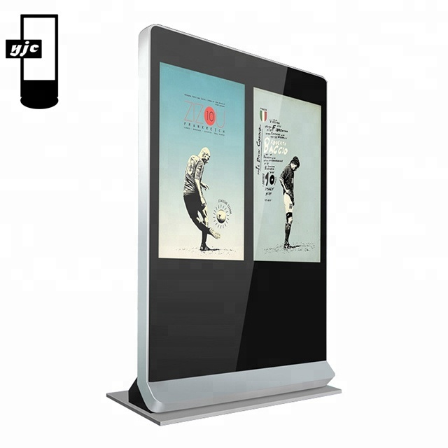Tela grande venda melhor 78 55 49 polegadas polegadas polegadas led android 4k plano inteligente digital signage