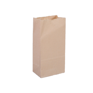 Customized Paper Small Recycle Shopping Snack Food Packaging Bag