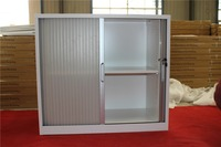 popular roller shutter door office steel storage 2 door cabinet