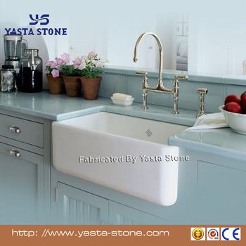 Poliert Weiß Schürze Sink Verwendet Küche Keramik Waschbecken - Buy  Verwendet Keramische Küchenspülen,Weiß Schürze Sink Verwendet,Poliert  Küchenspüle ...