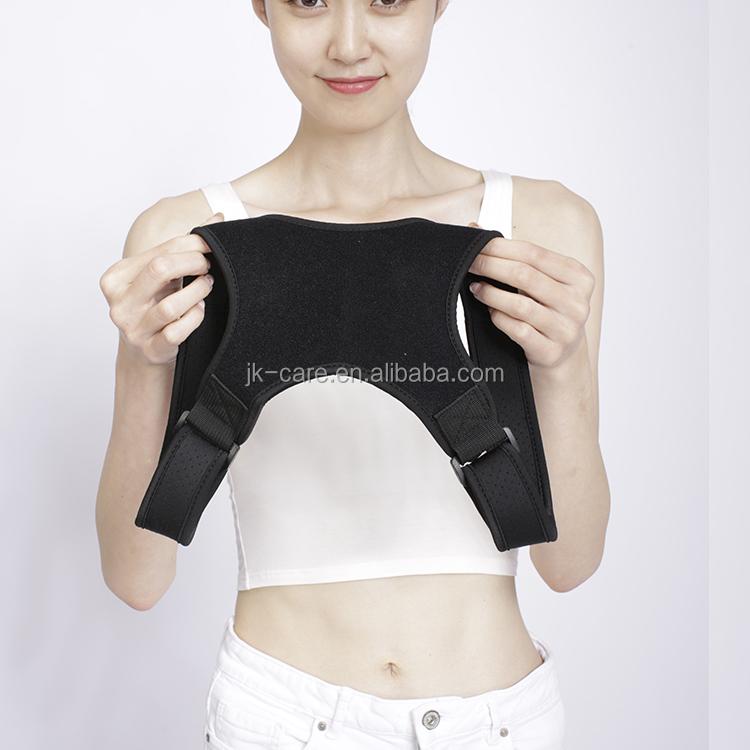 Respirável lombar ajustável, suporte brace clavícula corrector postura de volta cinto de suporte de volta 2019 para Homens, Mulheres, Crianças