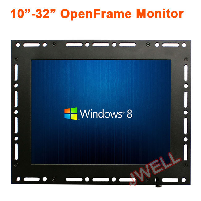 Open frame monitor 10.4 inch touch screen 4:3 HD TFT LCD monitor for advertising