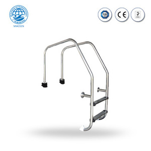 316 or 304 stainless steel swimming folding pool ladder steps