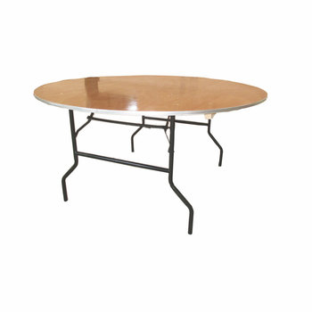 Qingdao Oriental hawk wholesale 10seats person Folding round rectangle Plywood Banquet dining hotel Table