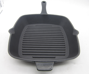 Eco-Friendly Cast Iron Cookware Enameled Cast Iron Pan Enameled Cast Iron frying Pan Ceramic Coating Skillet