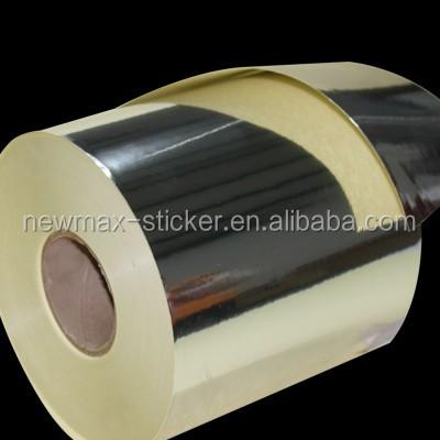 Silber Gold Pet Metallfolie Selbstklebend Aufkleber Buy