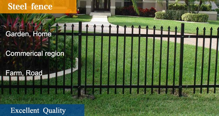 cheap wrought iron fence panels for salefence panels square steel pipe