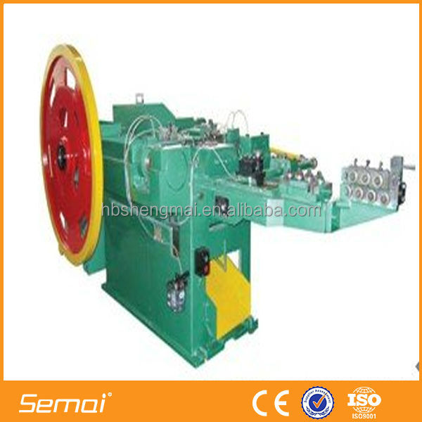Automatic Steel Nail Making Machine ISO9001,CE manufacturer