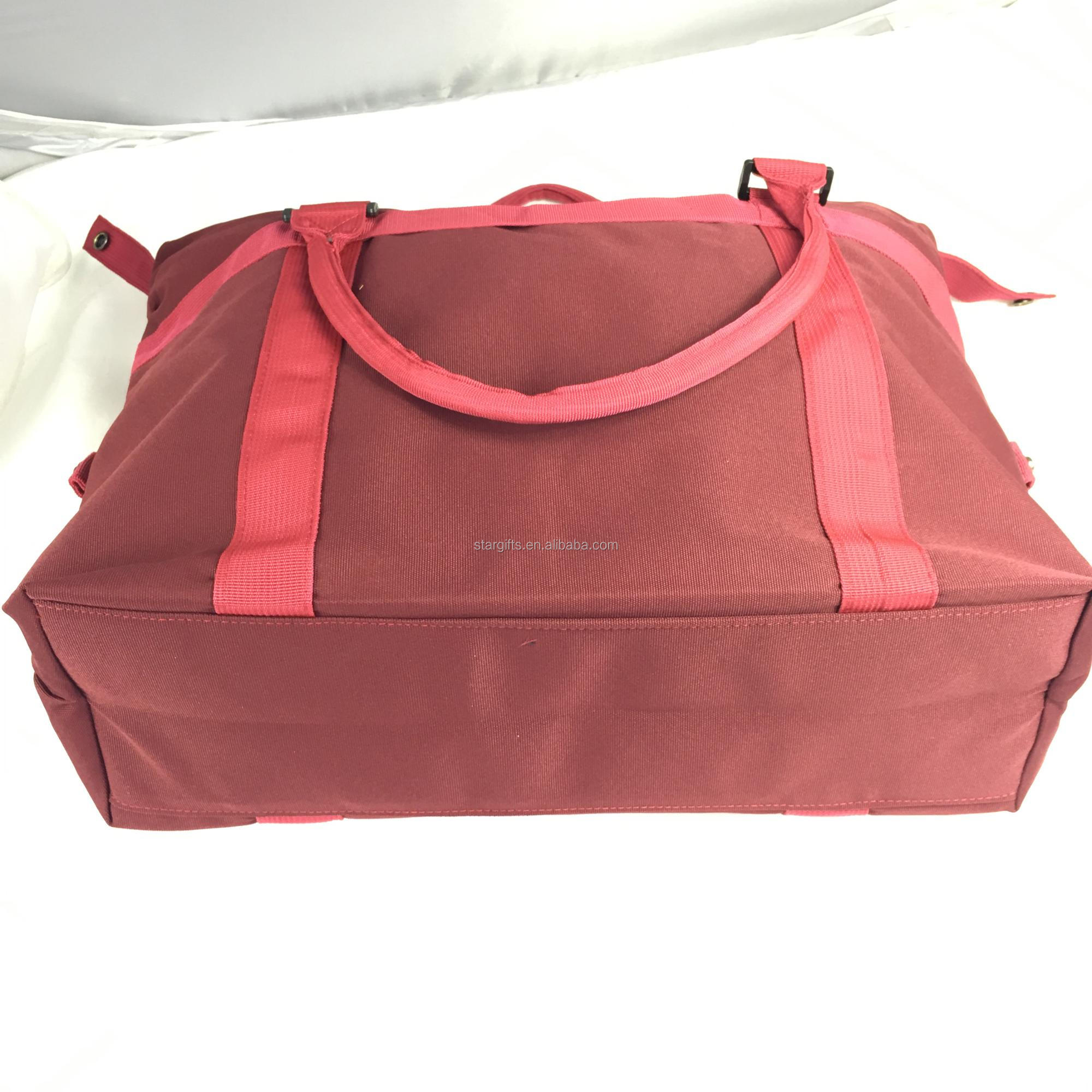 46da12e1c Wholesale Lightweight Waterproof Foldable Nylon Large Capacity Travel Tote  Bag With Built-in Pouch