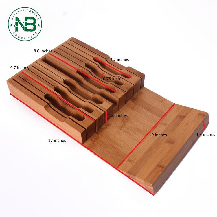 In-Cassetto Universale coltello di bambù