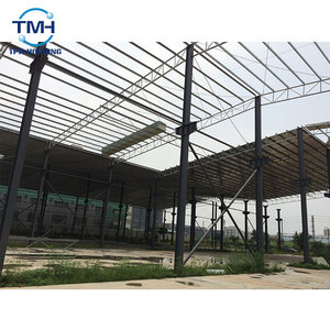 Customized Design Easy Assembled Prefab Steel Structure Frame Workshop Warehouse