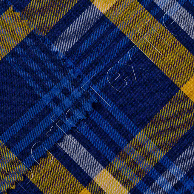 Provide best quality 100 cotton plaid yarn dyed fabric