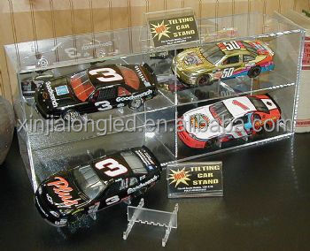Clear Model Car Display Case Perspex Toy Car Display Acrylic Model