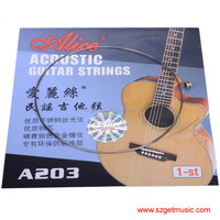 Alice A203 Balladry Guitar 1st String Wood Guitar String Alice Guitar Strings of Ballads