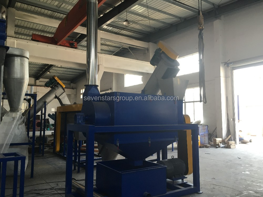 Plastic Bottle washing recycling/PET flakes recycling line