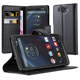 Folio Stand Flip PU Leather Case Cover For Motorola Droid Turbo XT1254