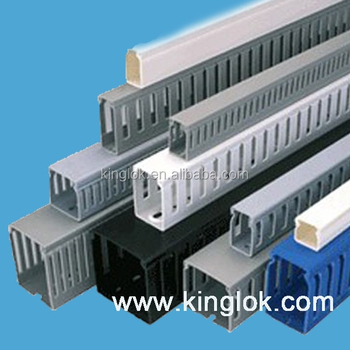 Plastic-Wire-Ducts-grey-color-electrical-Slotted.jpg_350x350 Wiring Duct Pvc on