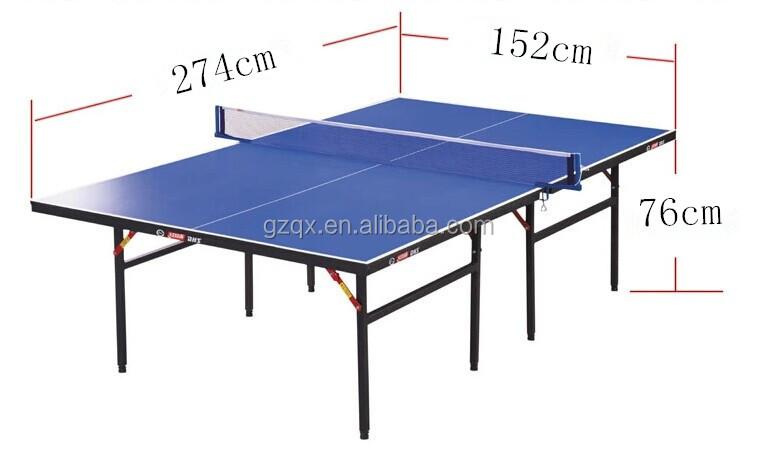Pieghevole altezza densit di fibra di legno tavolo da - Prezzo tavolo ping pong ...