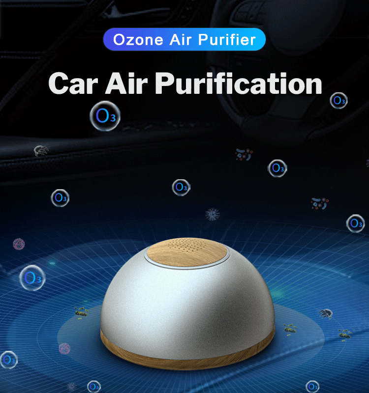 portable negative ion OZONE air purifier china