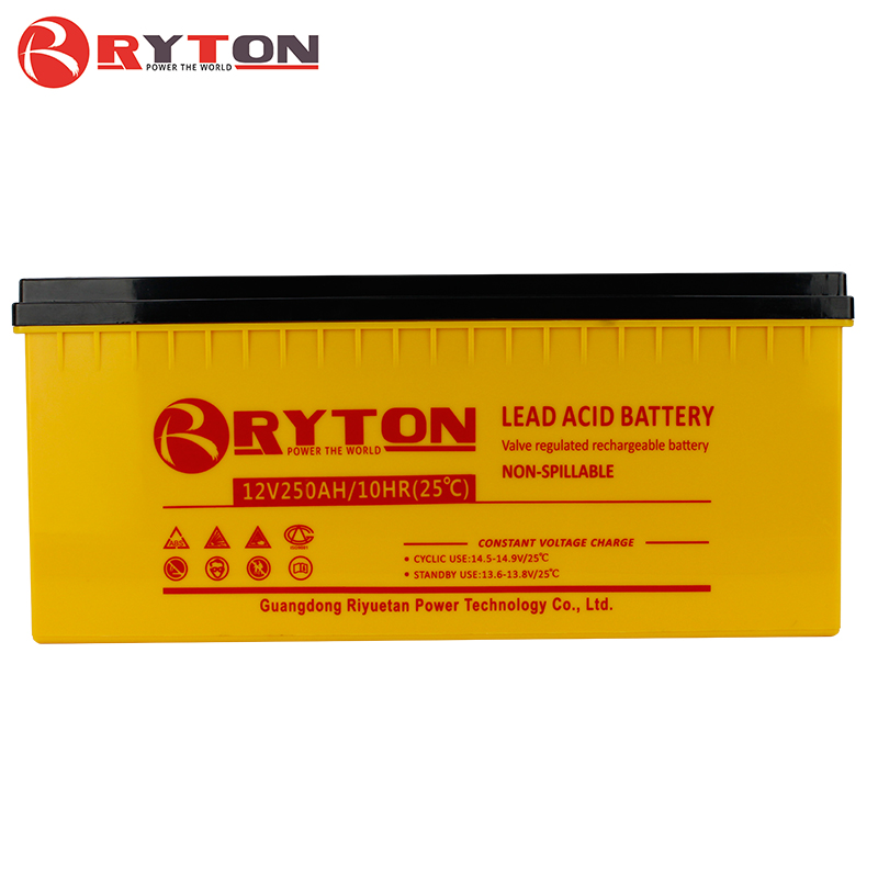 RYTON 250 amp 48v professional solar system long way battery perfect performance