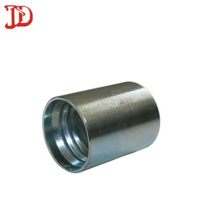 Female Hydraulic hose forged pipe ferrule 00210