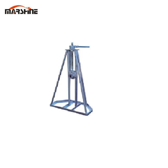 with Screw mandrel Simple cable Reel Payout Stand