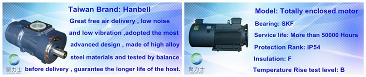 7.5kw 8bar Ac Power Electric Motor Oil Less Made In China Rotary ...